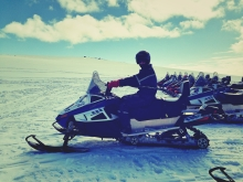 Mýrdalsjökull Snowmobiling, South Iceland