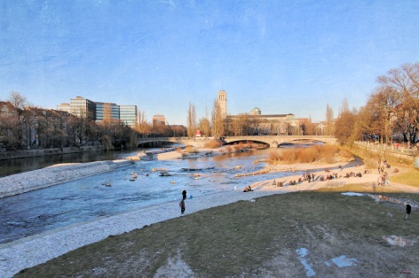 Isar River, Munich, Germany