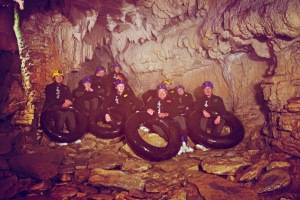 Adventure Caving, Waitomo Caves, New Zealand