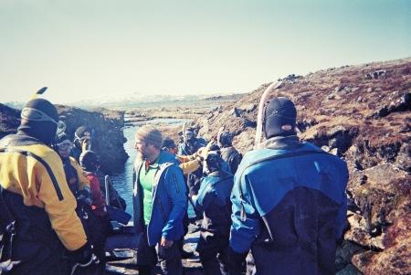 Silfra Fissure, Þingvellir, Iceland